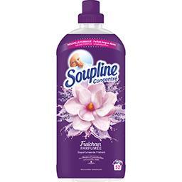 Soupline Adoucissant concentré Fraîcheur Parfumé fleurs blanc... la bouteille de 1,2 l