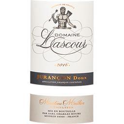 Jurançon Domaine Lascour vin Blanc moelleux 2016