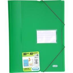 Protège-documents élastique A4 80 vues