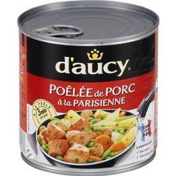 Poêlée de porc à la parisienne