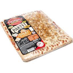 Pizza Party - Pizza poulet mariné mozzarella & oignons