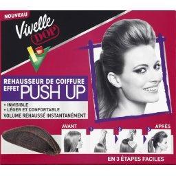 Rehausseur de coiffure effet Push Up