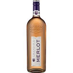 Vin de pays d'Oc Merlot, vin rosé