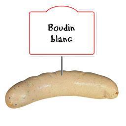 Boudin BLANC NATURE