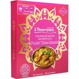 Concentré de saveurs aux épices pour poulet Tikka Masala