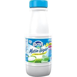 Lactel Lait Matin Léger BIO la bouteille de 50 cl