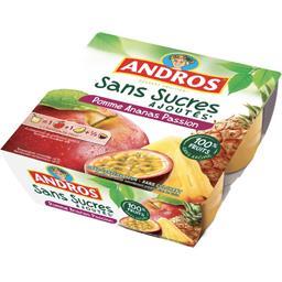 Spécialité de pomme ananas passion sans sucres ajout...