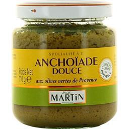 Anchoïade douce aux olives vertes de Provence