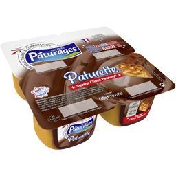 Paturette - Crème dessert saveur Choco Peanuts