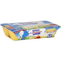 P'tit Onctueux Croissance - Desserts banane/pêche, 1...