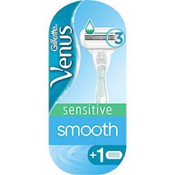Rasoir Sensitive Smooth pour femme