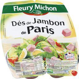 Dés de Jambon de Paris