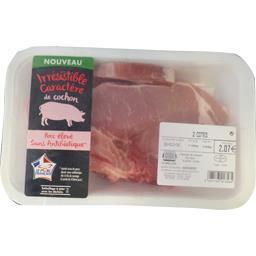 Côtes de porc première sans antibiotiques