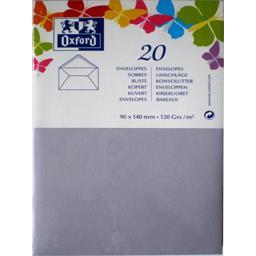 Oxford Enveloppe 9x14 120 g parme gommée patte pointue de v...