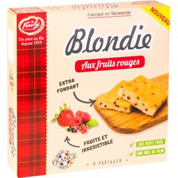 Blondie aux fruits rouges