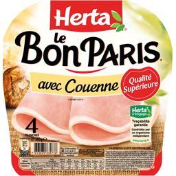 Le Bon Paris - Jambon qualité supérieure avec couenne