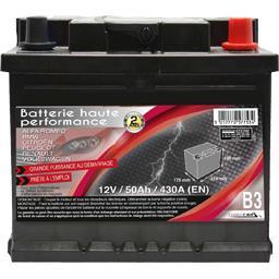 Batterie haute performance B3 12 V/50 Ah/430 A (EN)