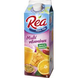 Nectar multivitamine, à base de jus et purées concen...