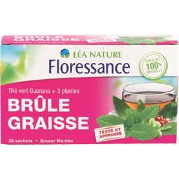 Thé vert Guarana + 3 plantes Brûle Graisse saveur me...