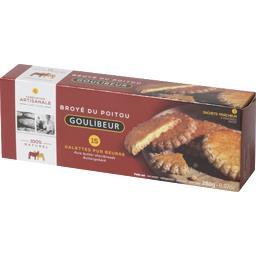 Broyé du Poitou, galettes pur beurre x15, x3 sachets fraîcheur