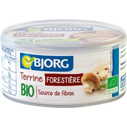 Terrine forestière BIO