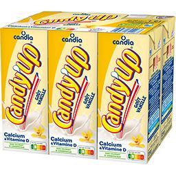 Candy'Up - Boisson lactée goût vanille