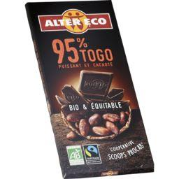 Chocolat noir Togo 95% BIO