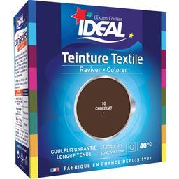Teinture textile chocolat 10 + le fixateur