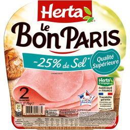 Le Bon Paris - Jambon réduit en sel