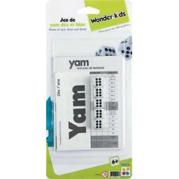 Jeu Yam avec bloc