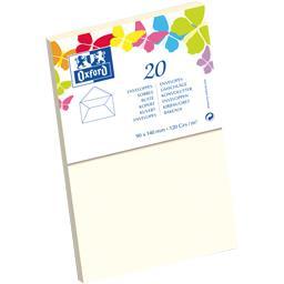 Enveloppe 90x140 beige gommée patte pointue de visit...