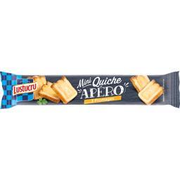 Mini quiche apéro 3 fromages