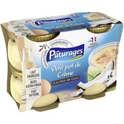 Petit pot de crème à la noix de coco