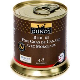 Bloc de foie gras avec morceaux