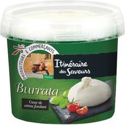Itinéraire des Saveurs Burrata le sachet de 200 g net égoutté