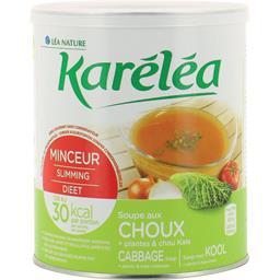 Soupe au choux + plantes & chou kalé