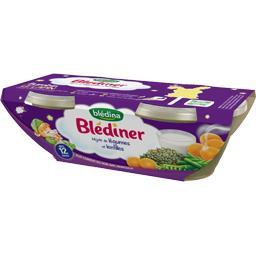 Blédîner - Mijoté de légumes et lentilles, dès 12 mo...