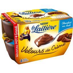 Velours de Crème chocolat au lait