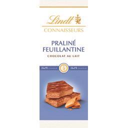 Connaisseurs - Chocolat au lait praliné feuillantine