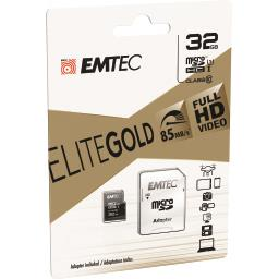 Carte mémoire micro SDHC 32GB UHS1 U1 EliteGold
