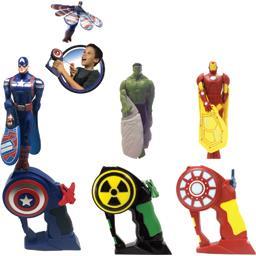 Flying Action figurines assorties