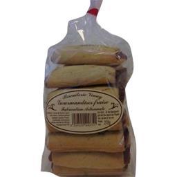 Sablés nappage fraise fabrication artisanale