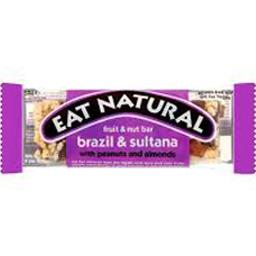 Eat Natural Barre amande & raisin la barre de 50 g