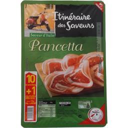 Itinéraire des Saveurs Pancetta la barquette de 10 tranches - 110 g