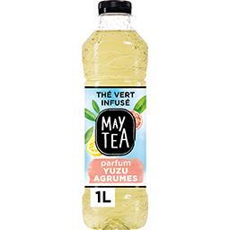 Thé infusé glacé thé vert parfum yuzu agrumes