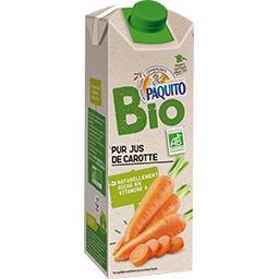Bio Paquito Jus de carotte BIO la bouteille de 75 cl