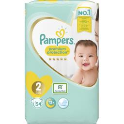 Pampers Couches New Baby taille 2 : 3-6 kg