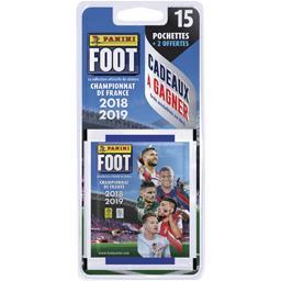 Pochette stickers foot 2018 - 2019