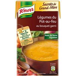Secrets de Grand-Mère - Soupe légumes du pot-au-feu