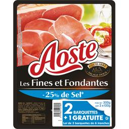 Aoste Jambon cru -25% de sel